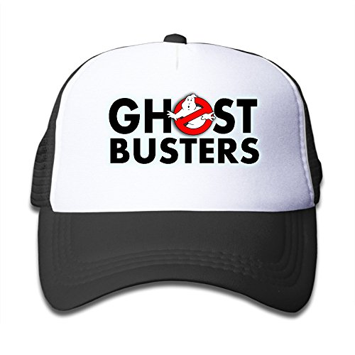 Kids A Ghost Busters Logo 100% Nylon Mesh Caps One Size Fits Most Adjustable Fashion Baseball Cap (Ghostbuster Accessories)