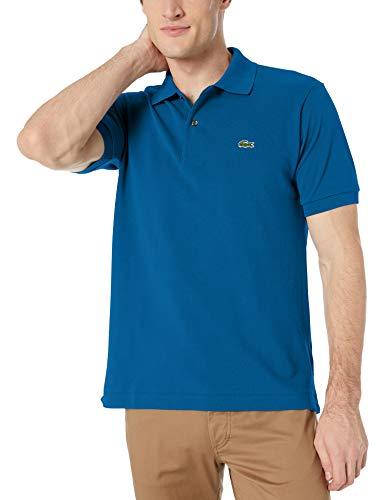 Lacoste Men's Short Sleeve L.12.12 Pique Polo Shirt, Electric, M