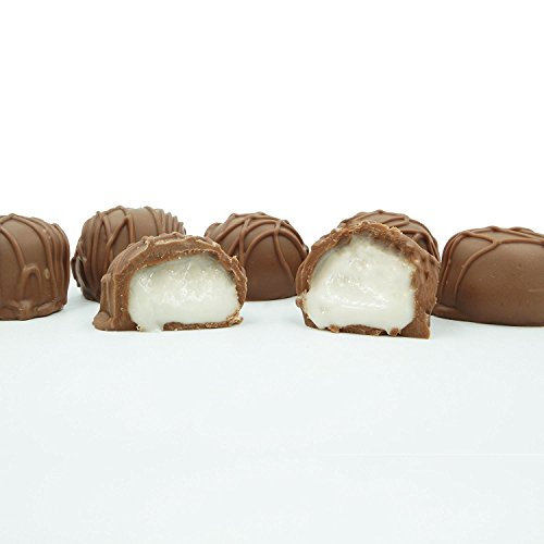 Philadelphia Candies Homemade Vanilla Creams, Milk Chocolate 1 Pound Gift Box