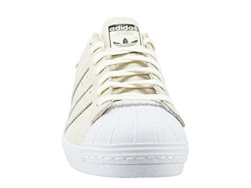 Dell'uomo Bianco 80s Tessute Adidas Da Superstar Tennis Modalità XARwqHA