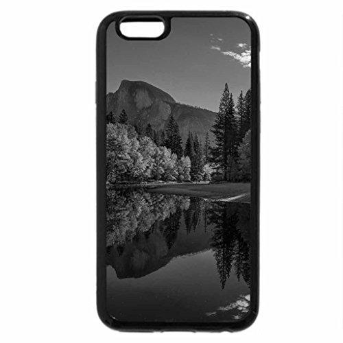 iPhone 6S Plus Case, iPhone 6 Plus Case (Black & White) - Morning Sun