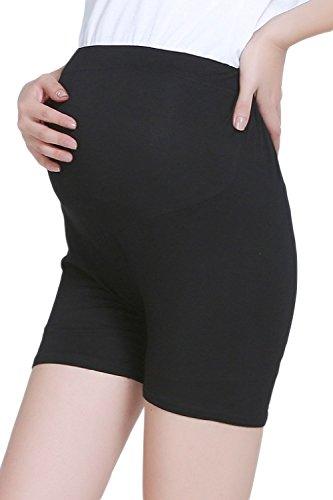 Fanvans Womens Cotton Maternity Pregnant Mother Panties Briefs Underwear Black (Flawless Fit High Cut Brief)