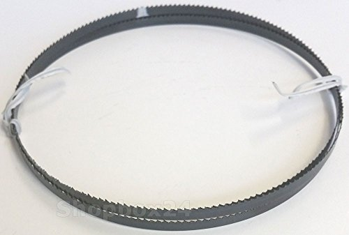 Premium Sägeband Bandsägeband Bandsägeblatt 1400 mm x 6 mm x 0,36 mm x 10 Zähne pro Zoll , für Sperrholz, geeignet für Maschinen wie: Atika , Einhell, Westfalia, CMI uvm.