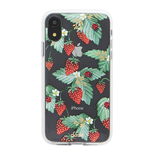 Sonix Fraise Strawberry Fruit Cell Phone Case [Military Drop Test Certified] Protective Clear Case for Apple iPhone - Cell Phone Strawberry Case
