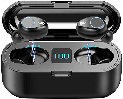 Bluetooth Kopfhörer in Ear Kabellos TWS 3500mAh 150H Spielzeit Kabellose Kopfhörer IP8 Wasserdicht Sport Wireless Earbuds HD Stereo Ohrhörer mit LED-Anzeige Ladebox & Mic (Slim)