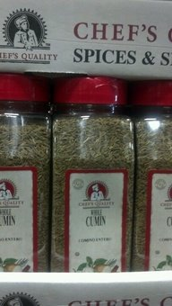 Chef's Quality: Whole Cumin Seed 12/16 Oz. Case