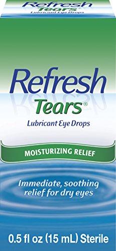 (Refresh Tears Lubricant Eye Drops, 0.5 fl oz (15mL) Sterile)