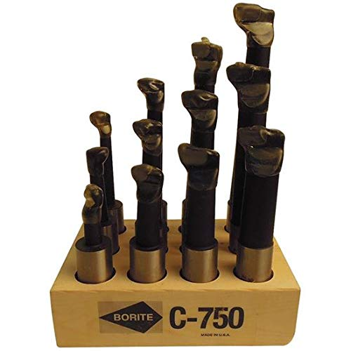 Borite C750 Carbide Tipped Boring Bar Set