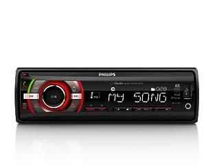 Philips CE152 - Radio de coche (RDS AM/FM, MP3, USB, lector tarjetas SD/SDHC, Bluetooth)