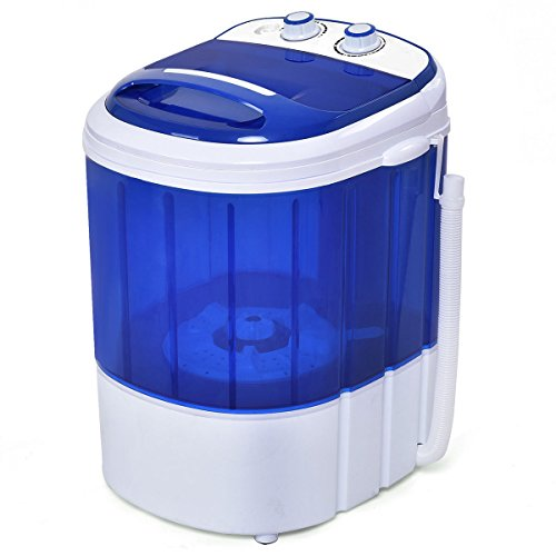 Price comparison product image Costway Mini Washing Machine Small Compact Washer 6.6lbs Capacity Blue