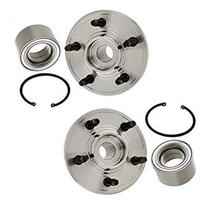 Brand New (Both) Rear Wheel Hub and Bearing Assembly for Explorer Mountaineer 5 Bolt (Pair) 521001 x2: Automotive