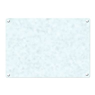 Catskill Craftsmen 16-Inch Tempered Glass Cutting Board with Padded Feet