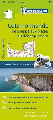 France ZOOM Map 117 : Normandie cotière de Dieppe au plages du debarquement (French Edition) pdf