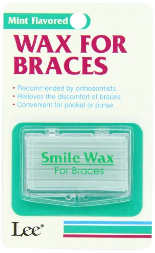 Wax for Braces By Lee Pharmaceutical, Mint Flavored - 1 Ea