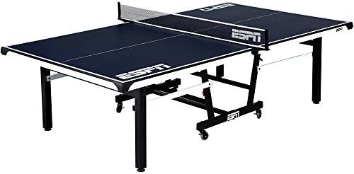 ESPN New Super Official Size Table Tennis Table with Table Cover