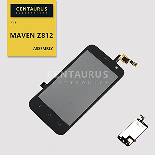 For ZTE Maven Z812 LTE Assembly LCD Display Touch Screen Digitizer  Replacement Black