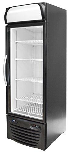Minus Forty Technologies 19-USGF-X1 Single Glass Door Upright Freezer Merchandiser - Ice Cream Vending Cart