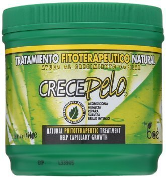 Crecepelo Natural Phitoterapeutic Treatment/ Crecepelo Tratamiento Fitoterapeutico Natural 8 Oz