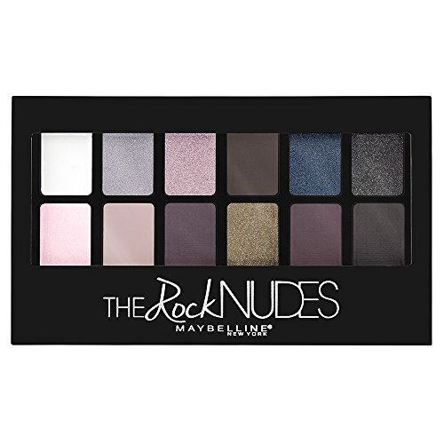 (Maybelline New York The Rock Nudes Palette, 0.35 Ounce)