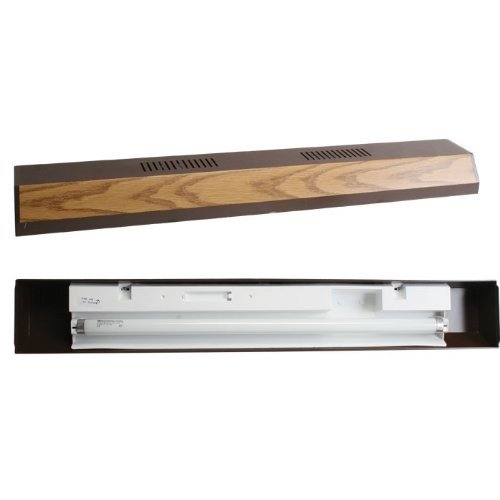 Perfecto Reflector Fluorescent Light Strip 30in Oa (Fluorescent Reflector)
