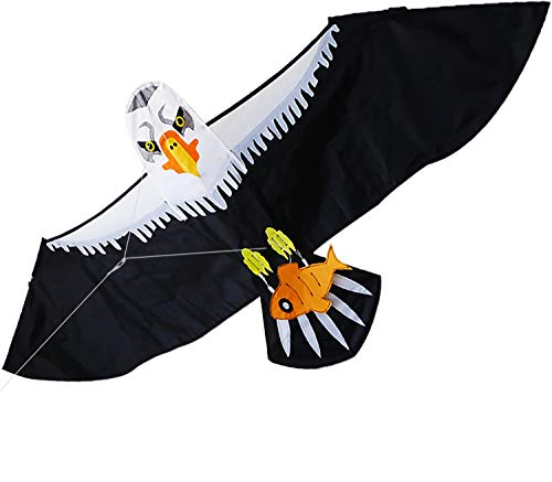 Zhuoyue Eagle Kite for Kids and Adults, 69x27 inch Large Bird Kite Easy to Fly for Boys and Girls, Outdoor Flying Toys for The Beach or Park