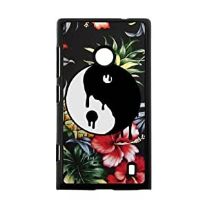 Canting_Good Ying Yang Custom Case Cover Shell for Nokia Lumia 520