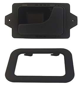 Delpa cl4722 right inside interior inner door handle bezel black fits bmw 3 5 6 for E39 interior door handle replacement