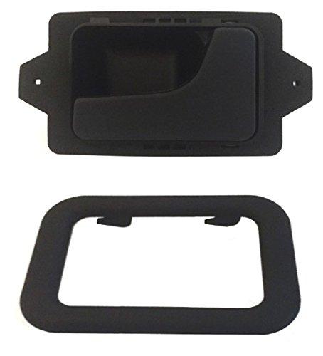 (DELPA CL4722 > Right Inside Interior Inner Door Handle + Bezel Black Fits: BMW 3 5 6 7 Series E12 E23 E24 E28 E30 E32 E34 E36 E38 E39 E46)