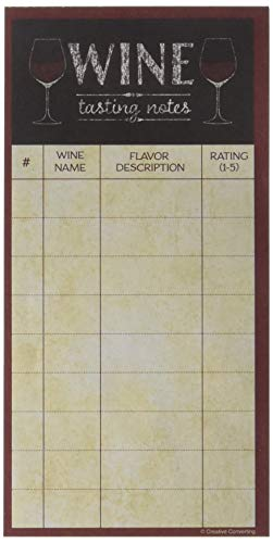 Tasting Party Supplies (Creative Converting 325096 Sip Hooray Wine Tasting Score Sheet Party Supplies, 8