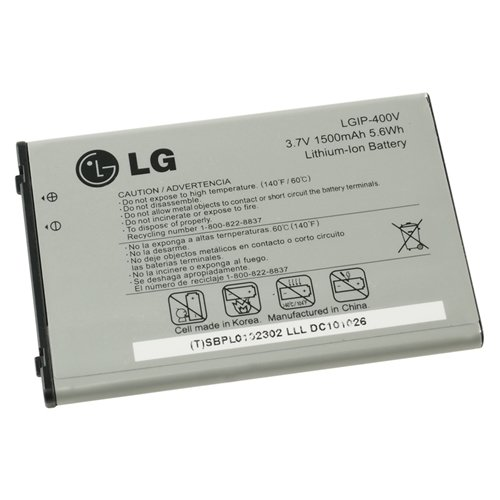 Amazon.com: Lg Vortex VS660 SBPL0102302 LGIP-400V Original Lithum-Ion Battery: Cell Phones & Accessories