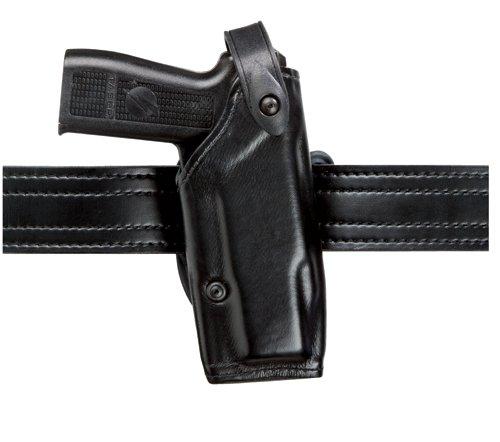 Safariland 6287 SLS Belt Slide Taser X-26 Holster, Plain Black, Right