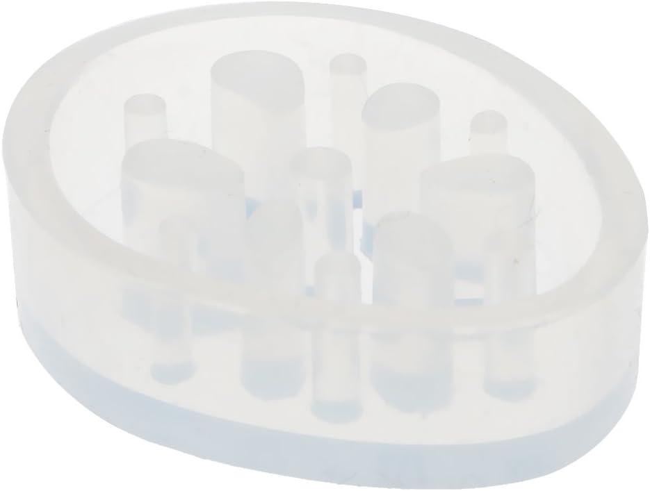 Radice loto forma IPOTCH Muffa Del Pendente Del Silicone Di Forma Della Radice Del Loto Per La Fabbricazione Di Gioielli Della Colata Della Resina Diy