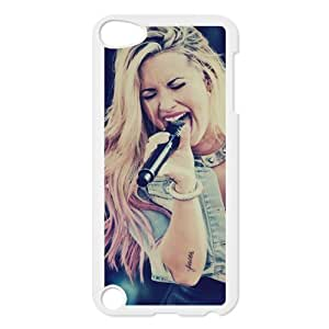 Customize Your Own Ipod Touch5 Back Case Famous Singer Demi Lovato JNIPOD5-1263