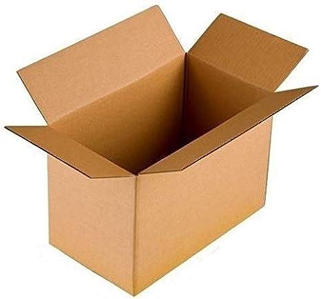 Plegable de Cartón 1100 X 500 X 500 Mm Para Mudanza 2.40 BC 2 Ondulado Estable 110 x 50 x 50 cm Envío Caja Post Box, color marrón 2 unidad: Amazon.es: Oficina y papelería