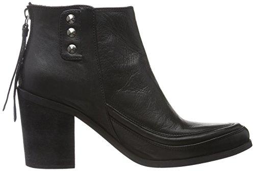 Black Lily Rae Boots, Bottines Non Doublées Femme Noir (Schwarz)