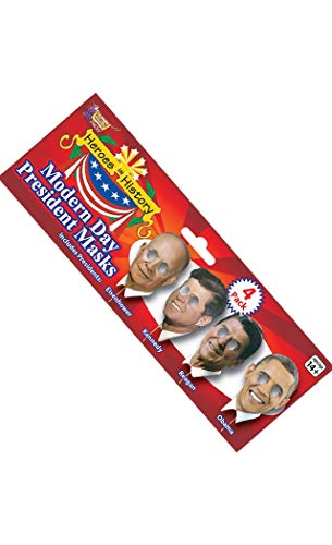 Forum Women's Photo Booth Kit Modern Day Presidents, Multi, One Size