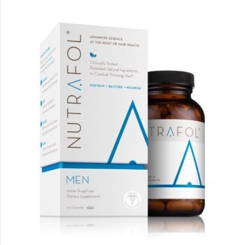 Nutrafol For Men Hair Loss Supplement- 120 Capsules