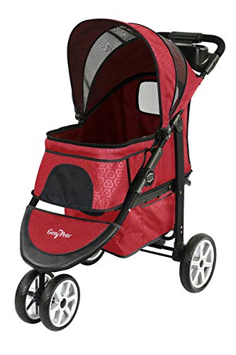 Gen7Pets Premium Monaco Stroller for Dogs and Cats up to 60lbs – Lightweight, All-Terrain and...