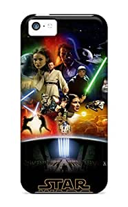 Iphone 5c FBaFMGA7061SDjGG Star Wars Anthology Silicone Gel Case Cover. Fits Iphone 5c
