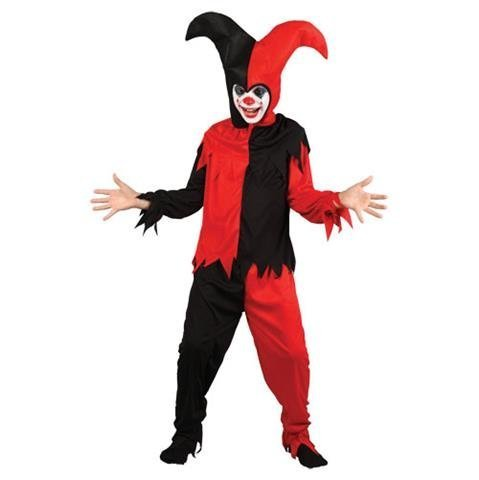 Creepy Jester - Kids Costume 5 - 7 years by Wicked Costumes