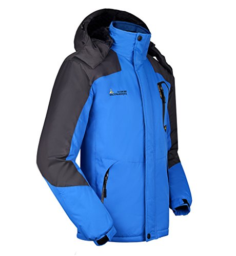 Da A Campeggio Con Per Outdoor Jacket Cappuccio Lorata Ciclismo Vento Impermeabile Sportivi All'aperto Giacche Blu Sci Uomo Giacca Softshell Trekking 5qaAa8nt