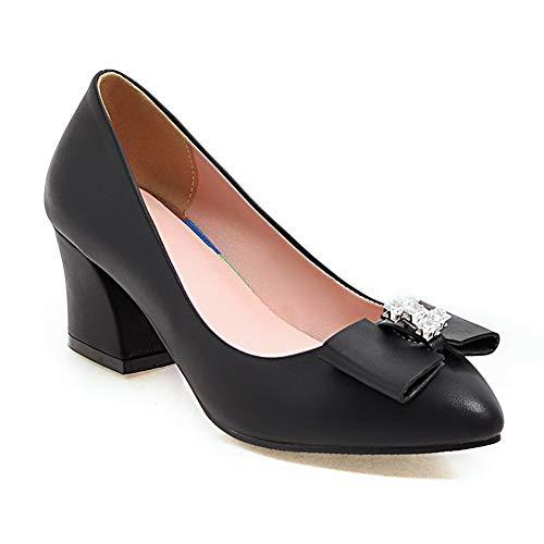 1TO9 Compensées 5 Noir MMS06285 36 Femme Sandales Noir zqSxrFnHzR