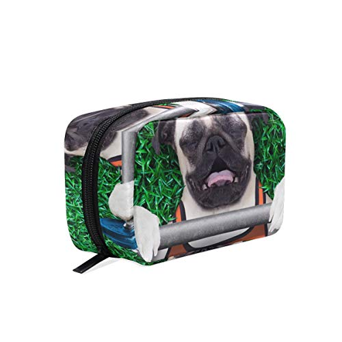(Makeup Bag Portable Travel Cosmetic Trainer Dog Train Case Toiletry Bag Organizer Accessories Case Tools Case for Beauty)