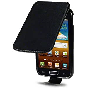 PU Leather Case Professional Range by Terrapin - Black for Samsung Galaxy Ace 2 i8160