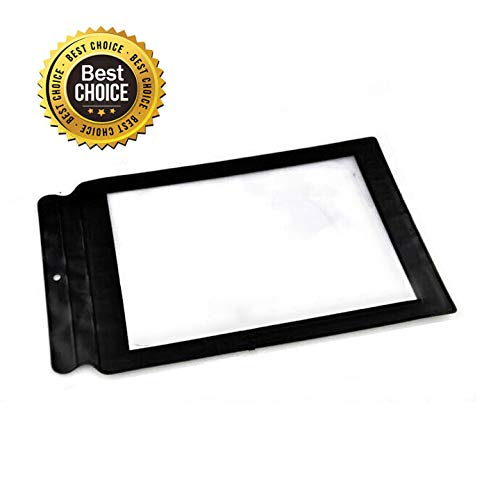 - Sheet Magnifier (FBA Available),Vinmax 3X A4 Full Page Large Sheet Magnifier Magnifying Glass Reading Aid Lens Fresnel-The Best Gift for The Seniors with Poor Eyesight