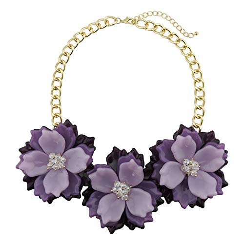Bocar Statement Chunky Necklace Jewelry
