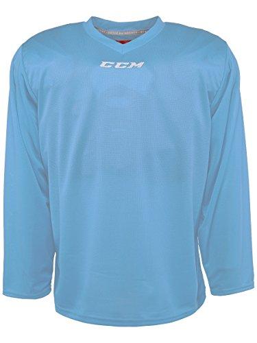 CCM 5000 Series Hockey Practice Jersey - Senior - Columbia Blue, Large