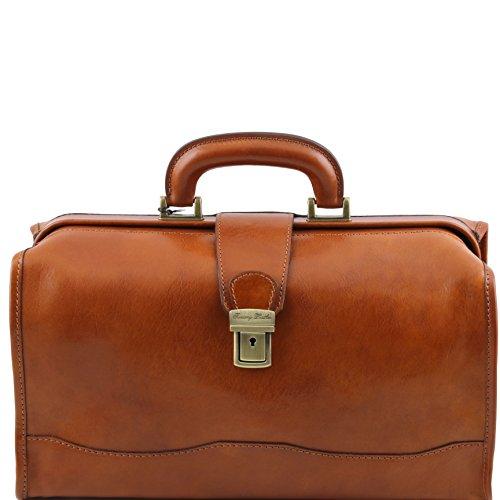 Tuscany Leather Raffaello Doctor leather bag (Leather Doctor Bag Handbag)