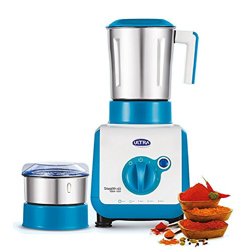 Elgi Ultra Mixer Grinder, 2-Jar, Blue