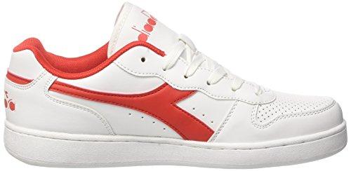 Diadora Carminio Sneaker Rosso Rosso Playground Uomo nBBqW47r